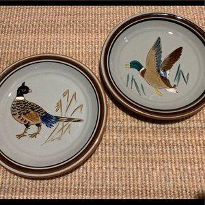 Stangl bird plates VINTAGE